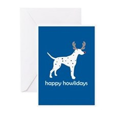 "Dalmatian ""Happy Ho"" Greeting Cards (Pk of 10)"