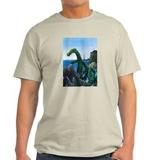 Ash Grey New England Sea Serpent T-Shirt