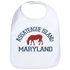 Assateague Island MD - Ponies Design. Bib