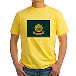 Flag of Idaho Yellow T-Shirt