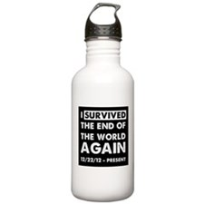 i survived the end of the world again. Water Bottle