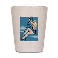 Cute Pin up Shot Glass