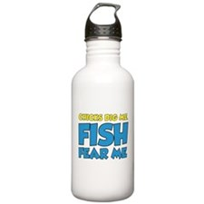 Chicks Dig Me Fish Fear Me Sports Water Bottle