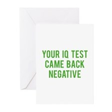 IQ test Greeting Cards (Pk of 20)