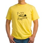 F-22 Yellow T-Shirt