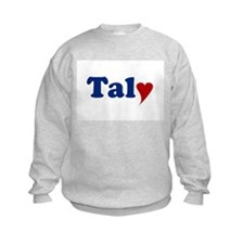 Taly with Heart Sweatshirt