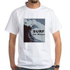 Surf Lake Michigan T-Shirt