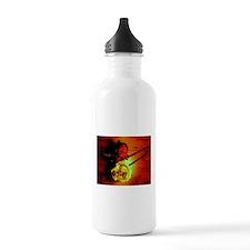 ONU Two Roses Art Water Bottle