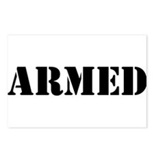 Armed Postcards (Package of 8)