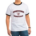 Andrew Warde High School Ringer T-Shirt