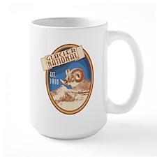 Glacier Bighorn Badge Mug