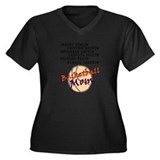 BASKETBALL MOM Plus Size T-Shirt