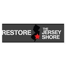 Restore The Jersey Shore Bumper Sticker
