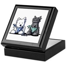 KiniArt™ Terrier Twosome Keepsake Box