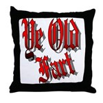 Ye Old Fart Throw Pillow