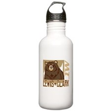 Lewis Clark Grumpy Grizzly Water Bottle