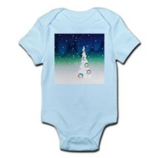 Barack Obama Snowball Christmas Tree Infant Bodysu