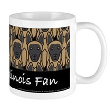Belgian Malinois Fan Mug