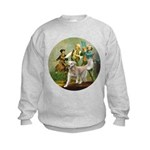 Spirit of 76 - Golden w-ball Kids Sweatshirt