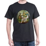 Spirit of 76 - Golden w-ball Dark T-Shirt