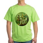 Spirit of 76 - Golden w-ball Green T-Shirt