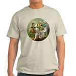 Spirit of 76 - Golden w-ball Light T-Shirt