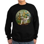 Spirit of 76 - Golden w-ball Sweatshirt (dark)