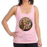 Spirit of 76 - Golden w-ball Racerback Tank Top