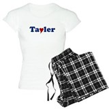 Tayler with Heart pajamas