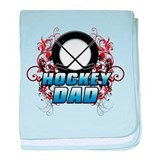 Hockey Dad (cross) copy.png baby blanket