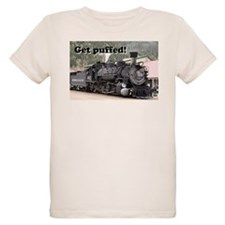 Get puffed! Colorado steam train, USA T-Shirt