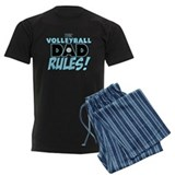 This Volleyball Dad Rules.png pajamas