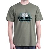 Volleyball Grandma (cross).png T-Shirt