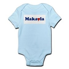 Makayla with Heart Infant Bodysuit