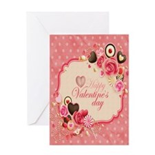 Happy Valentines Day to my love Greeting Card