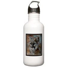Cougar Cat Water Bottle