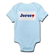 Jersey with Heart Onesie