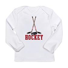 Hockey Long Sleeve Infant T-Shirt