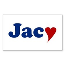Jacy with Heart Decal