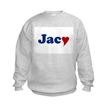 Jacy with Heart Sweatshirt