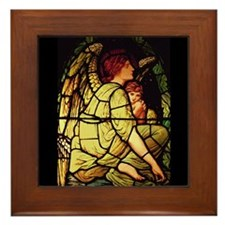 Angels for Christmas Framed Tile