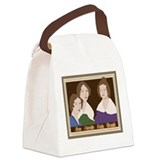 Cute Halle Canvas Lunch Bag