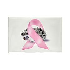 Pink Ribbon Rectangle Magnet