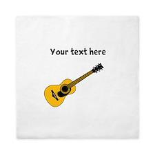 Customizable Guitar Queen Duvet