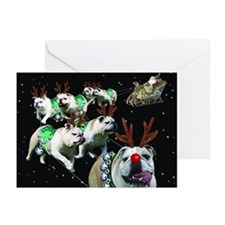 Reindeer Greeting Cards (Pk Of 10)