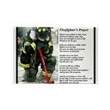 Old Version Firefighter Prayer Rectangle Magnet (1