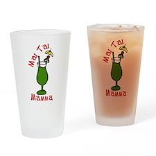 Mai Tai Mamma Drinking Glass