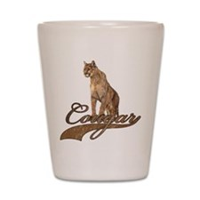 Unique Cougar Shot Glass