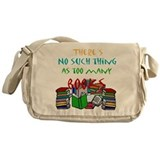 Books Messenger Bag