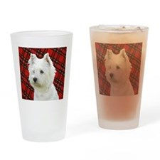 Unique Westie Drinking Glass
